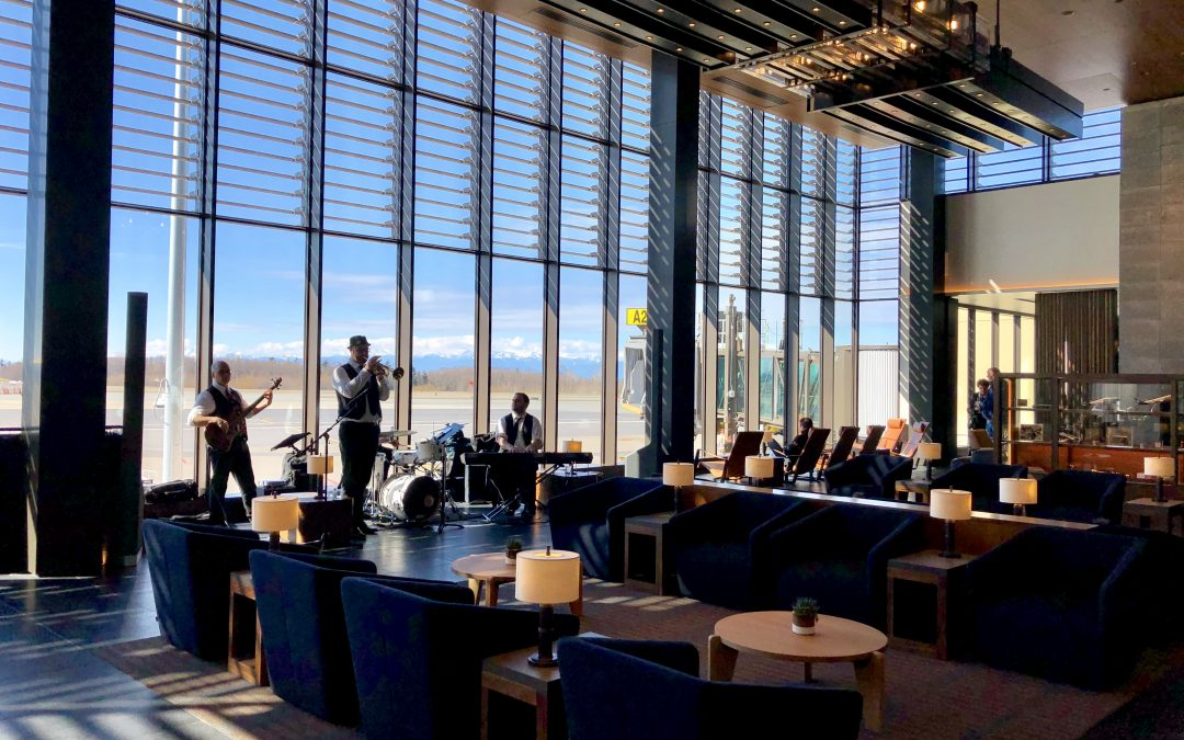 Terminally Cool: A First Look at the New Paine Field