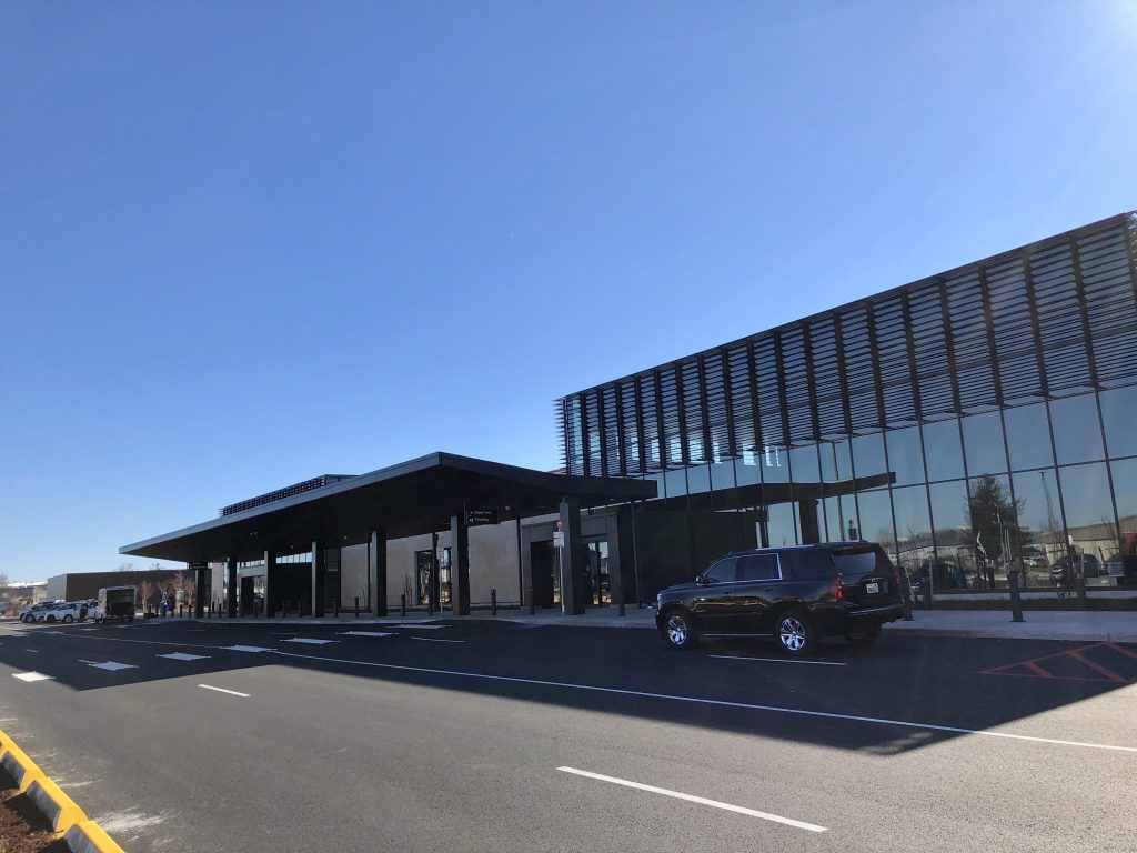 terminal entrance