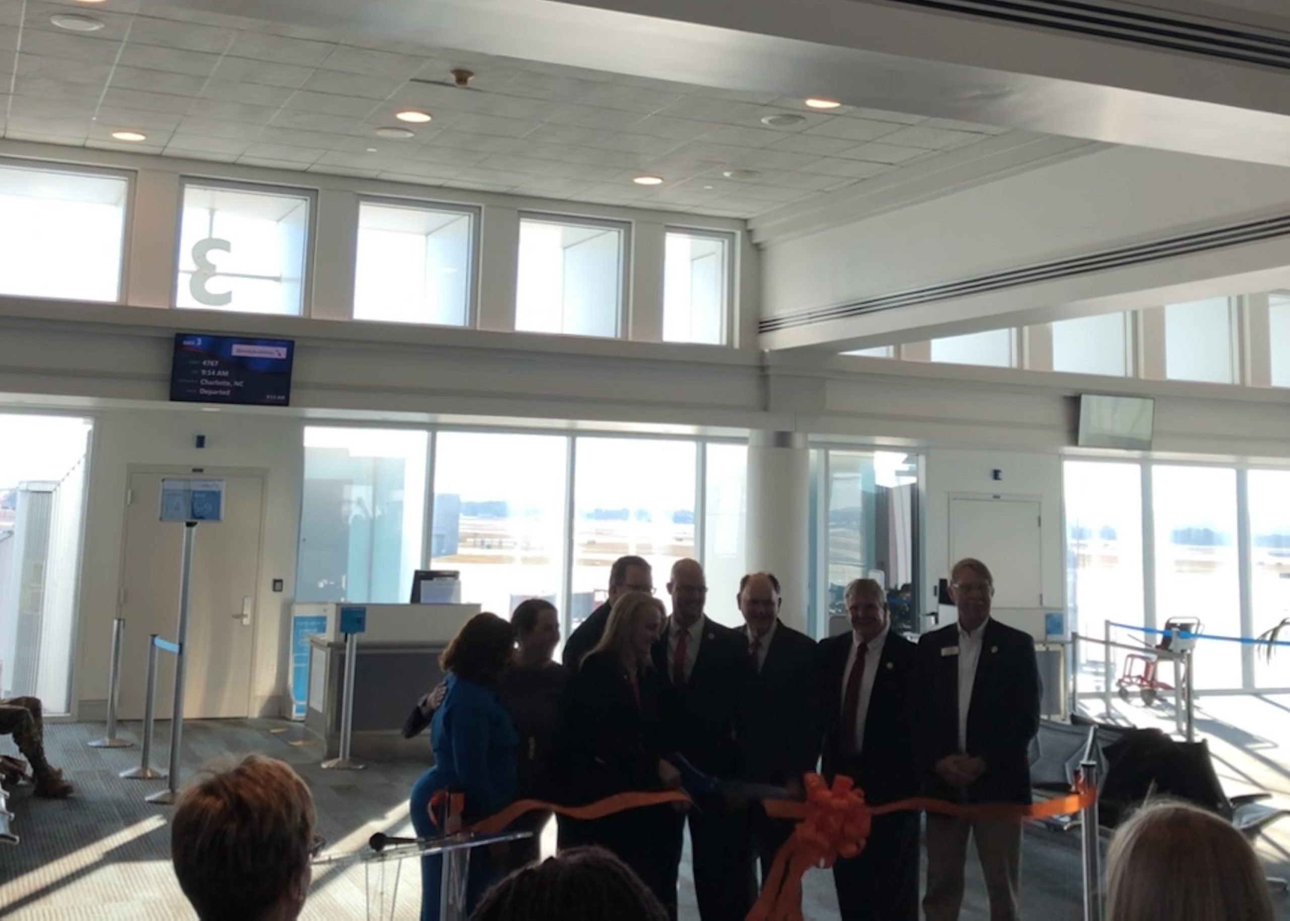 CAE to MIA ribbon cutting